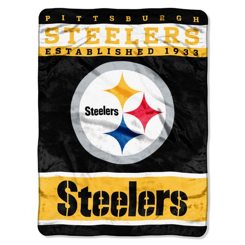 The Northwest Company Pittsburgh Steelers 12th Man Raschel Throw