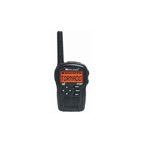 Midland SAME All-Hazard Handheld Weather Alert Radio