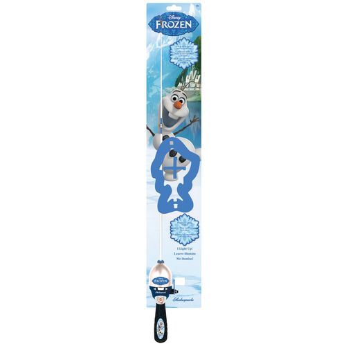 Shakespeare® Disney Frozen Olaf 2'6' M Light-Up Spincast Rod and Reel Combo