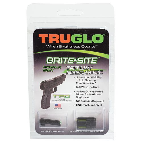 Display product reviews for Truglo Brite-Site TFO GLOCK 42/43 Handgun Sights