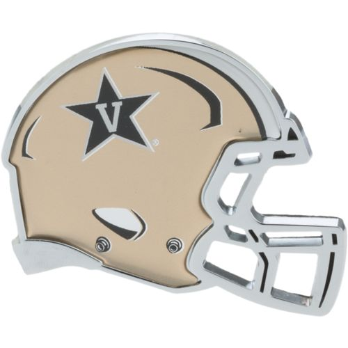 Stockdale Vanderbilt University Chrome Helmet Auto Emblem