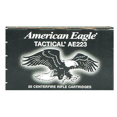 Federal Premium American Eagle .223 Remington/5.56 NATO 55-Grain Centerfire Rifle Ammunition