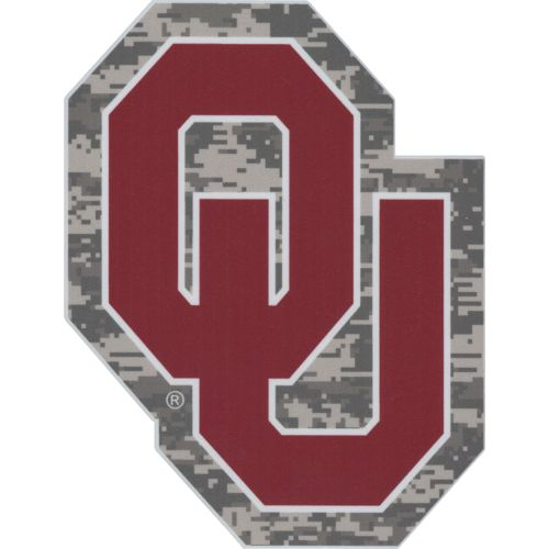 Stockdale University of Oklahoma Digi Camo Decal