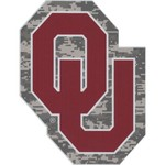 Stockdale University of Oklahoma Digi Camo Decal - view number 1