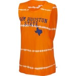 Venley Women's Sam Houston State University Bamboo Dyed Muscle T-shirt