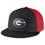 Nike Men's University of Georgia Players True Swoosh Flex Cap