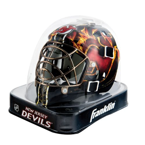 Franklin NHL Team Series New Jersey Devils Mini Goalie Mask - view number 2