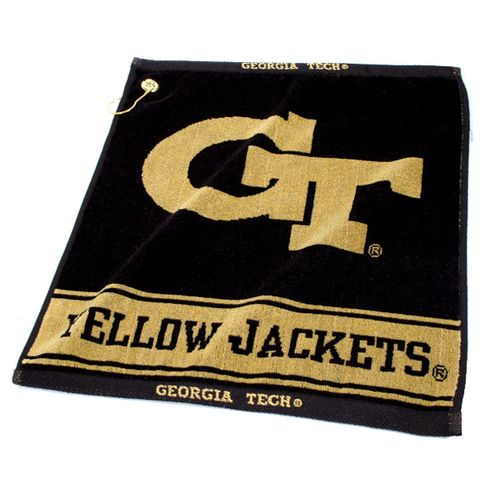 Team Golf Georgia Tech Woven Towel