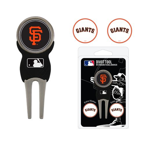 Team Golf San Francisco Giants Divot Tool and Ball Marker Set - view number 1