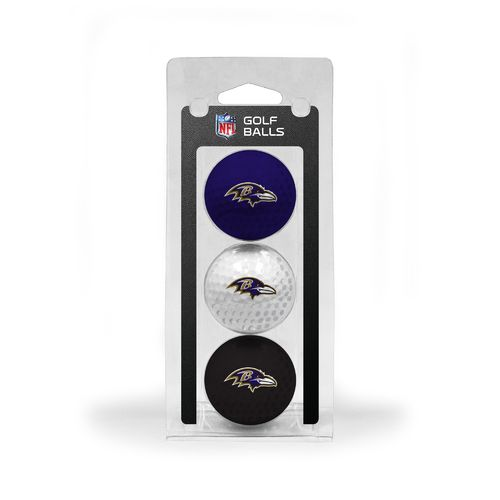 Team Golf Baltimore Ravens Golf Balls 3-Pack