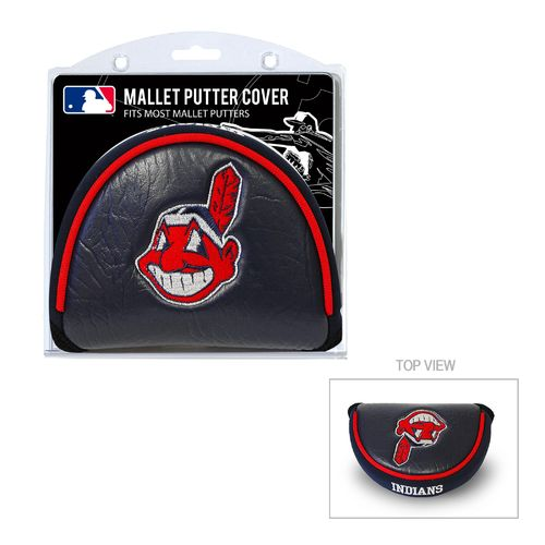 Team Golf Cleveland Indians Mallet Putter Cover - view number 1