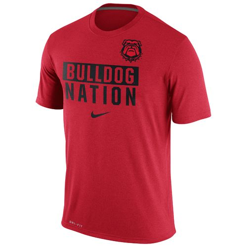 Nike™ Men's University of Georgia Legend Local Verb T-shirt