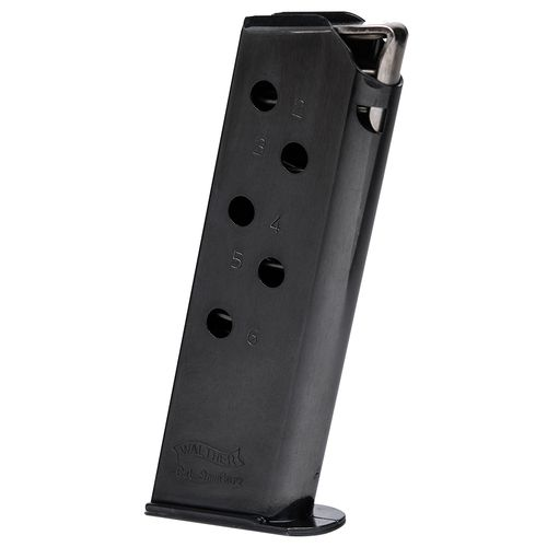 Walther PPK .380 ACP 6-Round Replacement Magazine