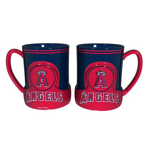 Nice Boelter Brands Los Angeles Angels of Anaheim Gametime 18 oz. Mugs 2-Pack for cheap