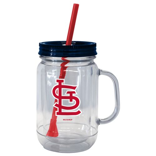 Boelter Brands St. Louis Cardinals 20 oz. Handled Straw Tumblers 2-Pack
