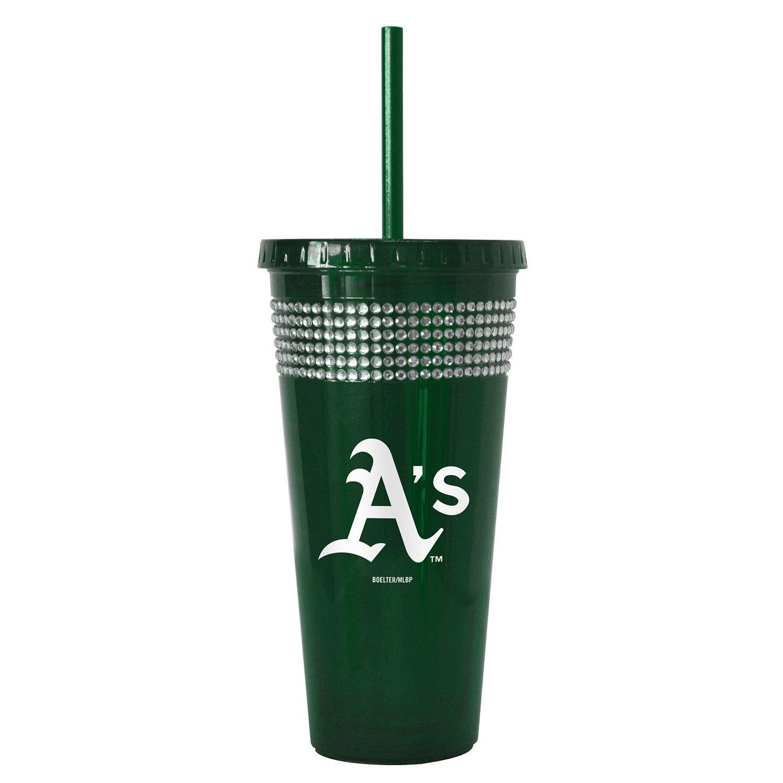 Boelter Brands Oakland Athletics 22 oz. Bling Straw