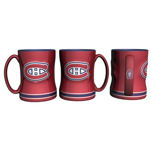 Boelter Brands Montreal Canadiens 14 oz. Relief Mugs 2-Pack