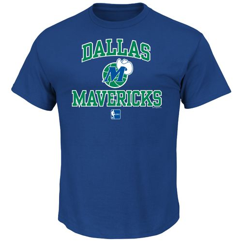 Majestic Men's Dallas Mavericks Hardwood Classics Heart and Soul T-shirt