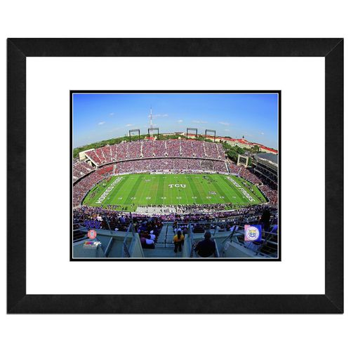 "Photo File Texas Christian University Stadium 8"" x 10"" Matted and Framed Photo"