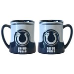 Boelter Brands Indianapolis Colts Gametime 18 oz. Mugs 2-Pack - view number 1