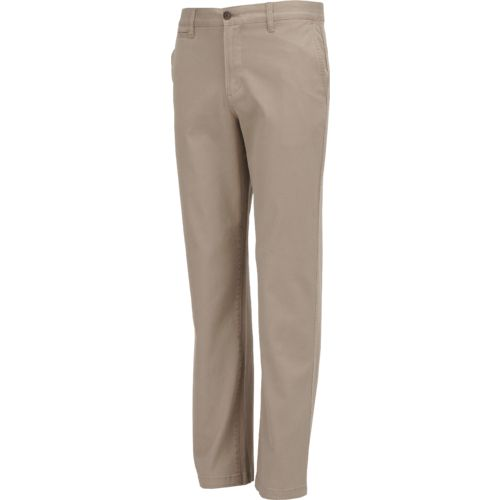 Magellan Outdoors Men's Twill Flat Front Pant