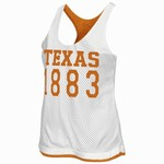 Colosseum Athletics Women's University of Texas Triple Crown Reversible Tank Top