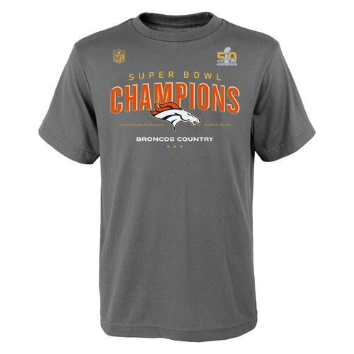 NFL Boys' Denver Broncos SB50 Champions Locker Room