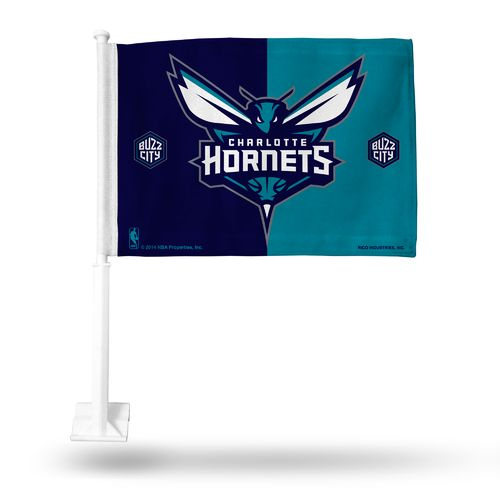 Tag Express Charlotte Hornets Car Flag