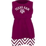 Klutch Apparel Toddlers' Texas A&M University Chevron Dress