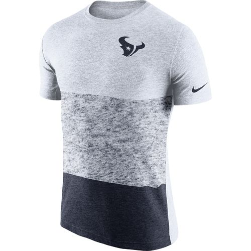 Nike Men's Houston Texans Push Press Triblend T-shirt