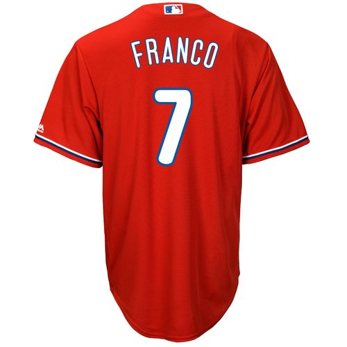 Majestic Men's Philadelphia Phillies Maikal Franco #7 Cool