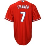 Majestic Men's Philadelphia Phillies Maikal Franco #7 Cool Base Replica Jersey