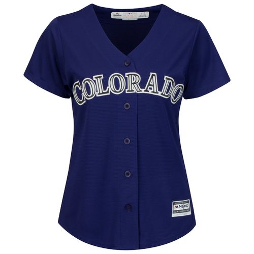 Majestic Women's Colorado Rockies Cool Base Replica Jersey