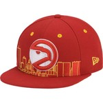 New Era Men's Atlanta Hawks Skyline 9FIFTY® Snapback Cap