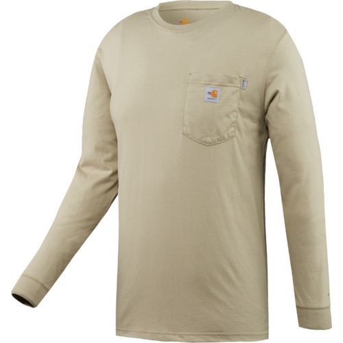 Carhartt Men's Work Dry® Flame Resistant Long Sleeve T-shirt