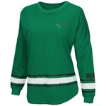 Colosseum Athletics™ Women's University of North Texas All Around Oversize Long Sleeve T-sh