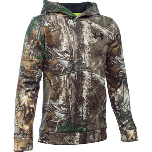 Under Armour Boys' Camo Logo Hoodie
