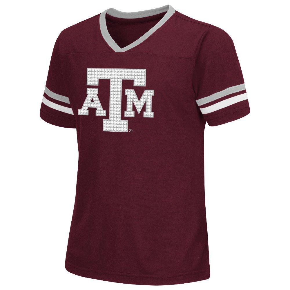 Colosseum Athletics™ Girls' Texas A&M University Titanium T-shirt
