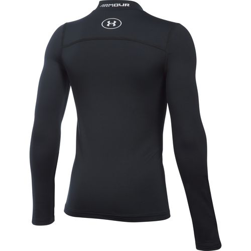 Under Armour Boys' ColdGear Armour Mock Neck Top - view number 2