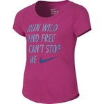Nike Girls' Run Wild Training T-shirt