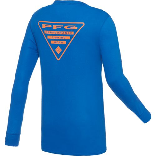 Columbia Sportswear Men's PFG Triangle Long Sleeve T-shirt
