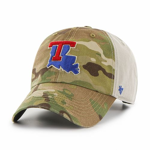 '47 Louisiana Tech University Sumner Camo Cap