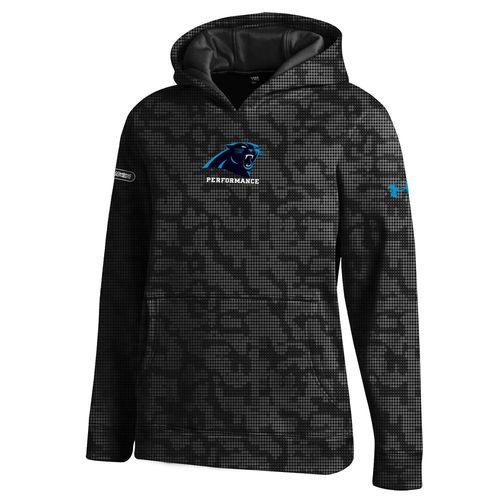 Under Armour™ NFL Combine Authentic Boys' Carolina Panthers Armour® Fleece Novelty Hoo