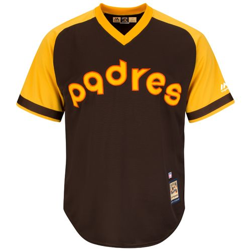 Majestic Men's San Diego Padres Rollie Fingers #34 Cool Base Cooperstown Jersey - view number 3