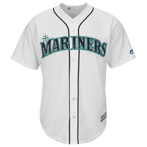 Majestic Men's Seattle Mariners Hisashi Iwakuma #18 Cool Base Replica Jersey - view number 3