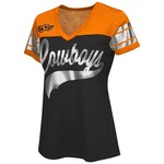 G-III for Her Women's Oklahoma State University Pass Rush Fashion Top