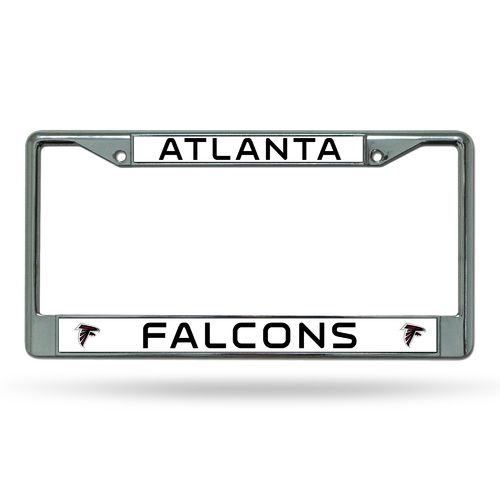 Rico Atlanta Falcons Chrome License Plate Frame