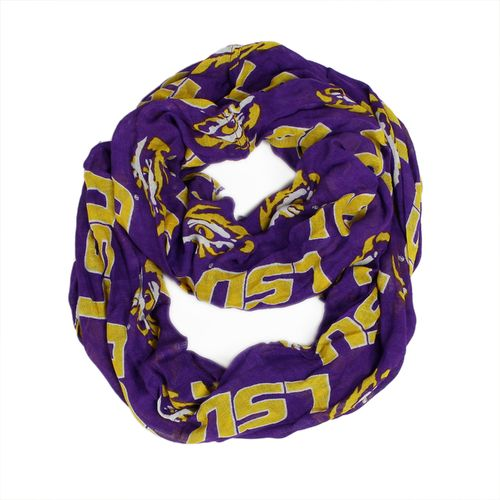ZooZatz Women's Louisiana State University Infinity Scarf