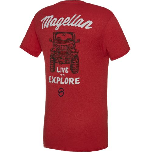 Magellan Outdoors™ Men's Live to Explore Jeep T-shirt