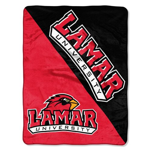 The Northwest Company Lamar University Halftone Micro Raschel Throw